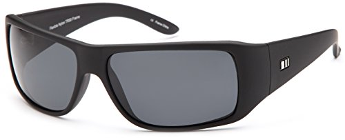 602385a45569a GAMMA RAY Polarized Wrap Around Sports Sunglasses with Shatterproof Nylon  Frame – Choose Your Color