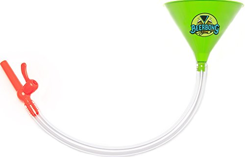 Beer Bong -Beer Funnel - With Valve No Kink Tubing Food Grade, You Pick From 7 Colors! Tailgating, Parties, Spring Break,, - 7 St Spring