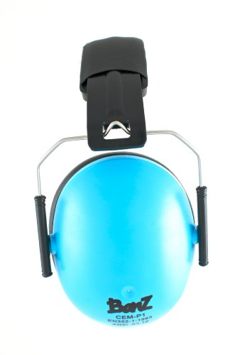 Image of Baby Banz earBanZ Kids Hearing Protection, Blue, 2 -10 YEARS