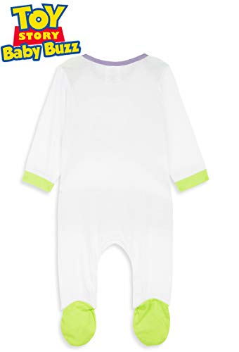 Disney Toy Story Tutine Neonato Buzz Lightyear, Pigiama Intero Bambino, Tutina per Neonati in Puro Cotone, Abbigliamento… 7