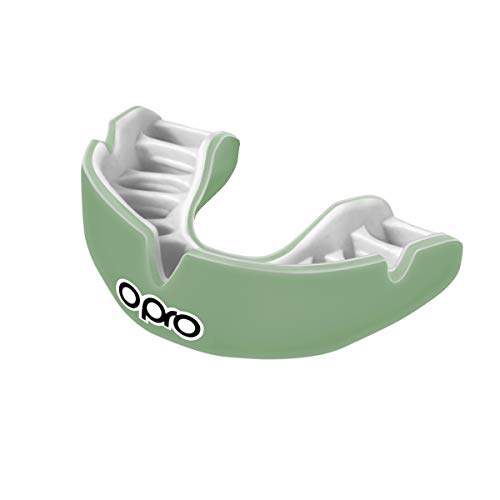 OPRO Power-Fit Mouthguard | Gum Shield for Football, Rugby, Hockey, Wrestling, and Other Combat and Contact Sports (Adult and Junior Sizes) - 18 Month Dental Warranty