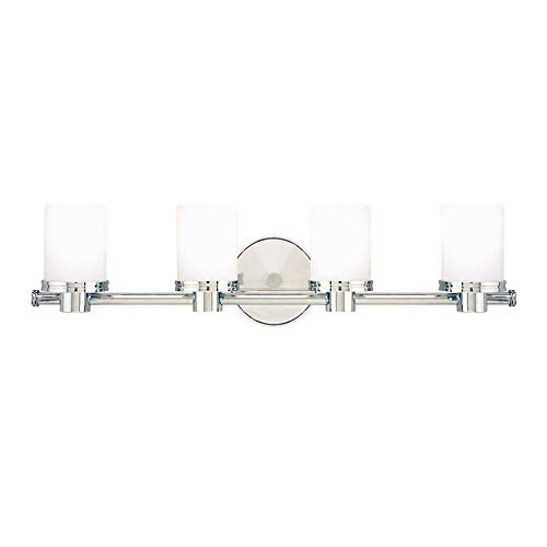 Hudson Valley Lighting 2054-PC Southport Collection - Four Light Wall Sconce, Polished Chrome