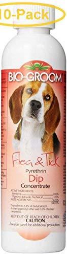 Bio-groom Flea & Tick Pyrethrin Dip 8 oz - Pack of 10 by Bio-groom (Image #1)