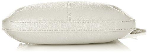 Kesslord Odeline, Borsa a Tracolla Donna, Taglia Unica Bianco (Blanc (Blanc))