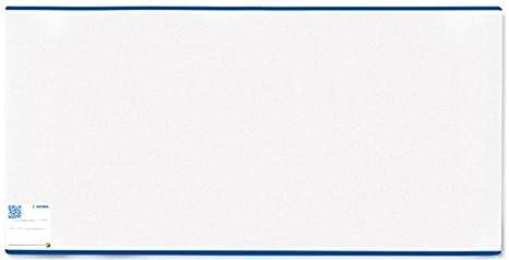 Kunststoff transparent Herma 7300 Buchumschlag Classic Gr/ö/ße 300 x 540 mm 1 Buchschoner f/ür Schulb/ücher normal lang blauer Rand
