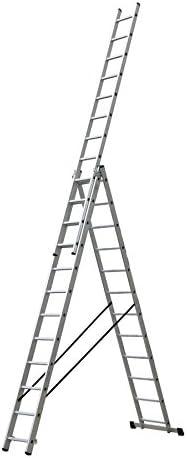 PROFER TOP - Escalera I Combi 3T 3X9 Master Profer Top 2,56/5,92M: Amazon.es: Bricolaje y herramientas