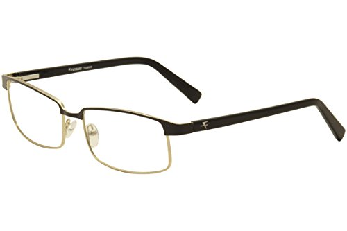 Fatheadz Men's Vito FH0043 FH/0043 Gold/Black Full Rim Optical Frame - Fathead Frames Glass