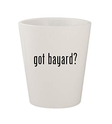 got bayard? - Ceramic White 1.5oz Shot Glass (Bayards Chocolate)