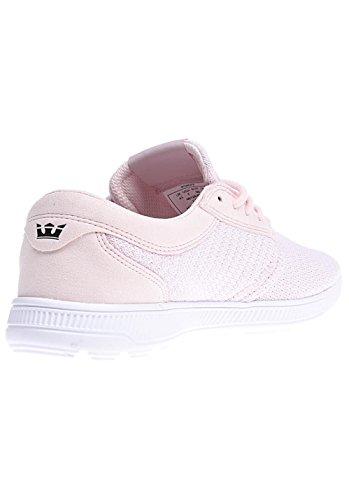 Run Pink Supra Hammer white Basses Homme Baskets Pink F5RvRqwax