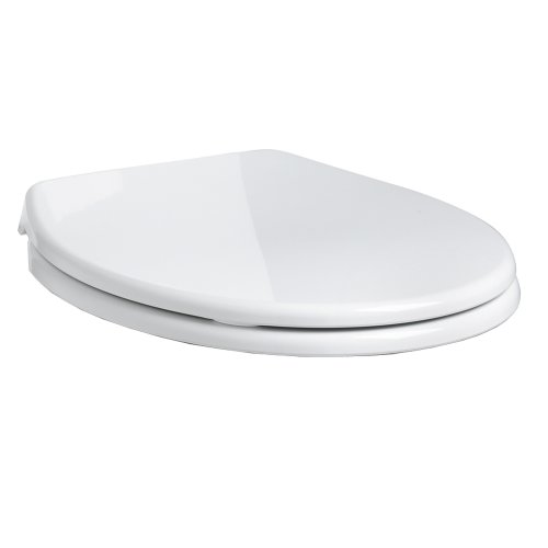American Standard 5281.110.020 Cadet Round Front Slow Close Easy Lift Toilet Seat, White
