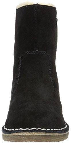 Esprit Black Koa black001 para Mujer Negro Zip Bootie 001 Botines rrnzdxwqFS