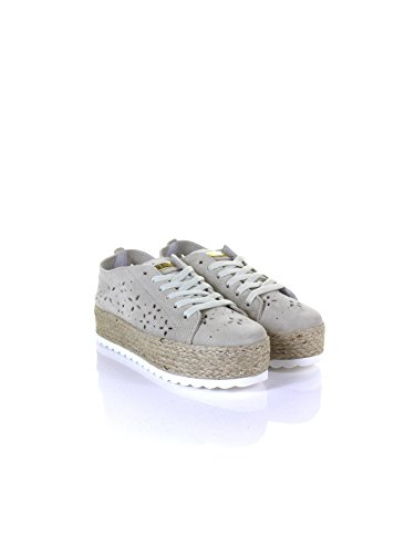 Sneakers Gues Donna Pelle Sneakers Pelle Gues Beige Beige Donna Sneakers Donna Gues tYqaaO