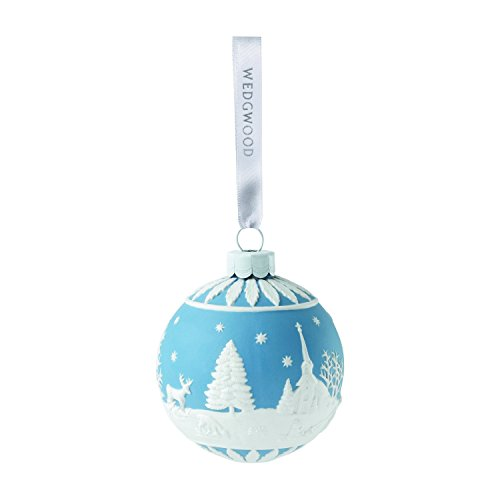 Wedgwood Ornament Winter Country Blue,