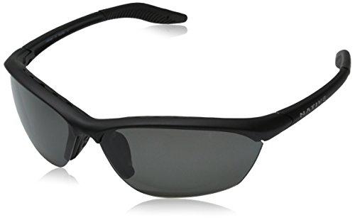 Native Eyewear Hardtop Sunglasses, Asphalt with Gray - Sunglasses Warranty Native