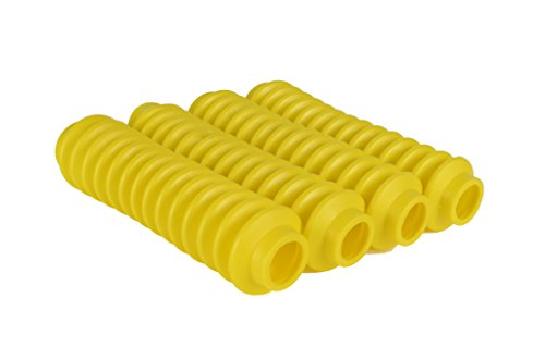 4 Shock Boots Yellow Fits Most Shocks for Jeep Wrangler TJ All Models