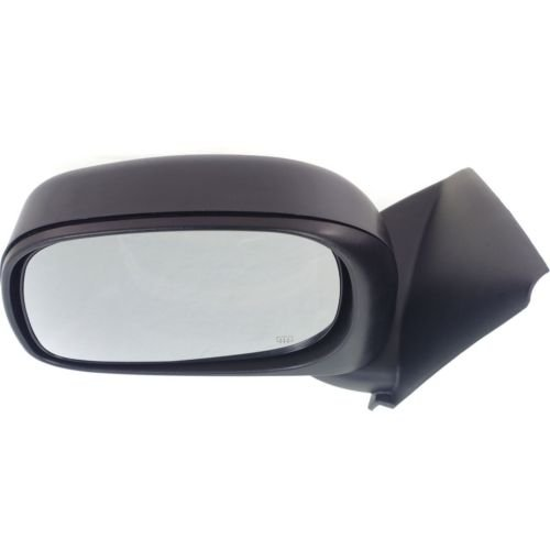 Make Auto Parts Manufacturing Left//Driver Side Door Mirror Power Operated Heated Textured Black For Dodge Ram 1500 2002-2009 Ram 3500 2002-2008 CH1320215 Ram 2500 2002-2008