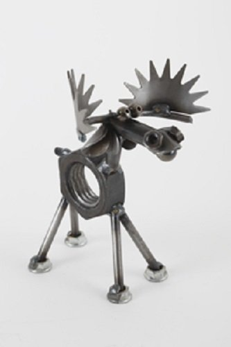 Yardbirds Junkyard Metal Animal - Mini Nut the Moose - C535 ()