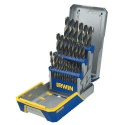29 Piece Black and Gold Metal Index Drill Bit Set Tools Equipment Hand Tools