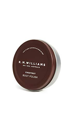 R.M. Williams Men's Stockman's Boot Polish, Chestnut, One Size