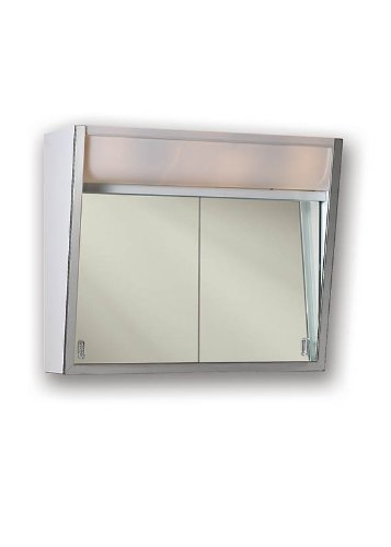 - Jensen 323LP Specialty Flair Stainless Steel Trim, White Finish-Surface Mount Mounting