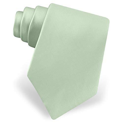 Celadon Green Celadon Silk Extra Long Tie