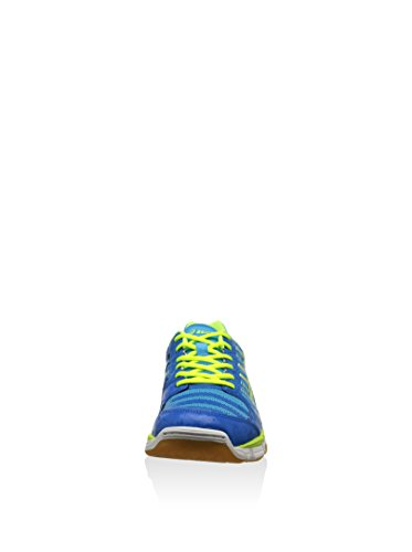Asics GEL CYBER SHOT Chaussures de Sport Homme Bleu Jaune