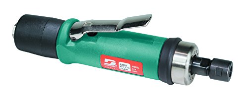 Dynabrade 52278 Straight-Line Die Grinder, 20000 RPM, Extended Rear Exhaust, 1/4-Inch Collet by Dynabrade