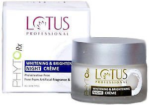 Lotus Professional Phyto- Rx Whitening & Brightening Night Cream