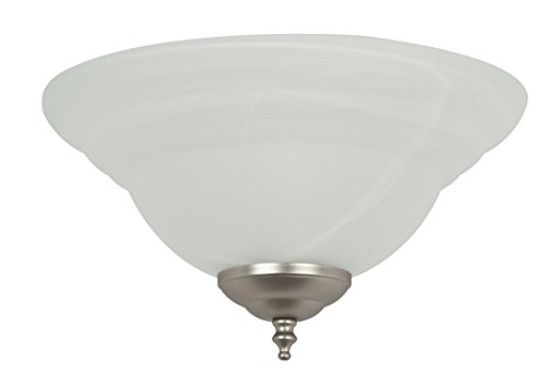 Concord Fans Y-261A-ES-S-03 Lightkit 2-13W Gu24 Lights Alabaster Glass Bowl Energy Star Rated Fan Light Kit (Bowls Concord Glass)