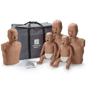 Prestan Family Pack of CPR Manikins (2 Adults, 1 Child, &...