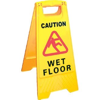 jantex cartello di segnaletica di sicurezza attenzione pavimento bagnato dimensione 640