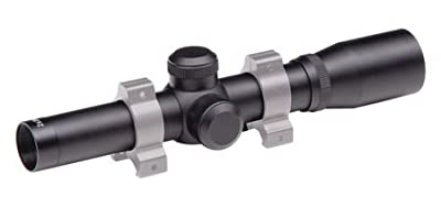 Traditions A1150 Pistol Scope, 2x20 mm, Duplex, Black, 1-Inch Tube from Big Rock