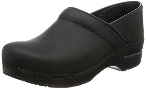 Dansko Men's Professional Oiled Leather Clog,Black,43 EU (9.5-10 M - Ons Oiled Slip Professional