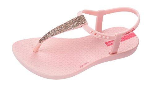Ipanema Girls Flip Flops Kids Charm Glitter Sandal-Pink-13K/1 -