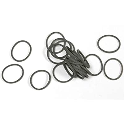 Twistz Bandz Latex Free Rubber Band Bag + C-clips - Grey: Toys & Games