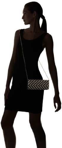 Clutch Crystal Whiting Davis Black amp; Flap Chevron q1g0xXSw
