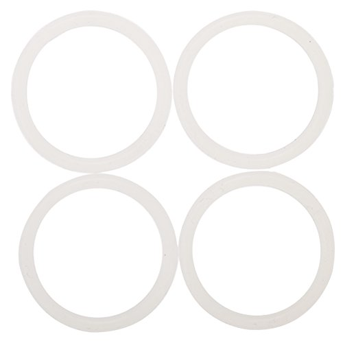 Impresa Products 4-Pack of Klean Kanteen (TM)-Compatible Classic Cap Gaskets/O-Rings/Seals by BPA-/Phthalate-/Latex-Free - Maintenance Kit (Cap Gasket)