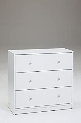 Tvilum Portland 3 Drawer Chest,