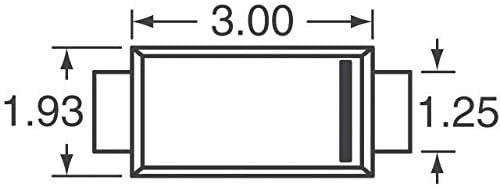 TVS DIODE 22V 35.5V POWERDI 123 Pack of 100 DFLT22A-7
