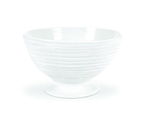Porcelain Footed Bowl - Portmeirion Sophie Conran White Footed Bowl
