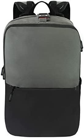 Ascentials Pro Boss, Water Resistant, Travel Business Backpack, 15 Laptop Messenger for Men