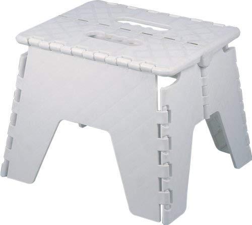 Heavy Duty E-Zee Multi-Purpose Folding 8 Step Stool White