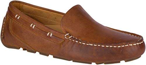 Sperry Mens Gold Harpswell Driver w/ASV Loafer, Tan, 9.5 (Sperry Gold Bay)