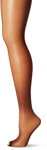 Hanes Silk Reflections Women's Lasting Sheer Control Top Toeless Pantyhose