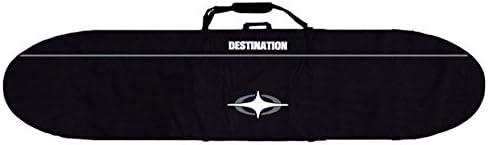 DESTINATION EX AIR TRAVEL 12mm PAD YKK#10 ZIP【EX-LONG】 9'6 黒