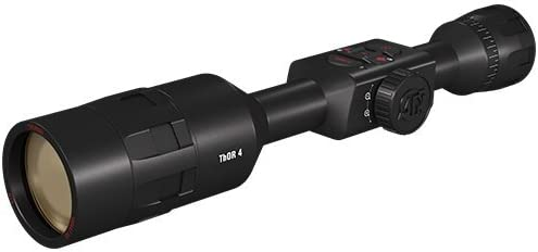ATN Thor 4, 640x480, Thermal Rifle Scope w/Ultra Sensitive Next Gen Sensor, WiFi, Image Stabilization, Range Finder, Ballistic Calculator and iOS and...