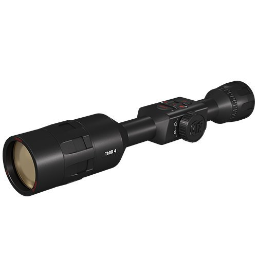 ATN ThOR 4, 384x288, Thermal Rifle Scope w/Ultra Sensitive Next Gen Sensor, WiFi, Image Stabilization, Range Finder, Ballistic Calculator and IOS and Android Apps
