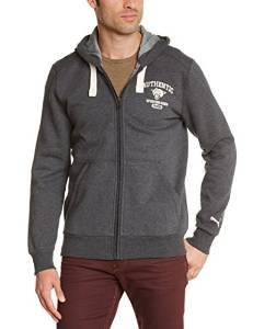 df326ca410ed Puma Heritage  Sporting Goods  Full Zip Hoodie - Charcoal (X-Small ...