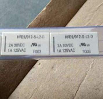 555 1PCS HFD2-005-M-L2 HFD2//005-M-L2 1A125VAC 10PIN