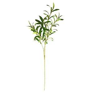 Artificial Decorative Flowers Simulation olive branch fake leaf green plant decoration rhododendron flower arrangement with flower decoration living room floor plant decoration Artificial Flowers.